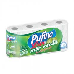 HARTIE IGIENICA MAR VERDE PUFINA 3 STR 8 ROLE