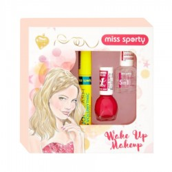 CASETA FEMEI WAKE UP MAKEUP MISS SPORTY