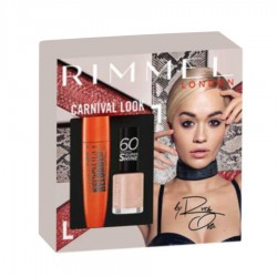 SET DAMA CARNIVAL LOOK RIMMEL LONDON