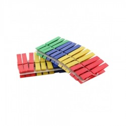 CLESTI RUFE PLASTIC 24/SET