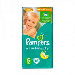 SCUTECE NR.5 MAGICAL PODS PAMPERS 64/SET