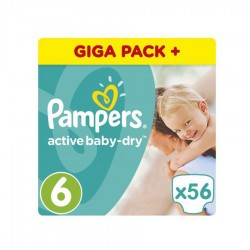 SCUTECE NR. 6 XL PAMPERS 56/SET