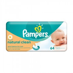 SERVETELE UMEDE NATURAL CLEAN PAMPERS