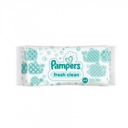 SERVETELE UMEDE FRESH CLEAN PAMPERS 64/PAC