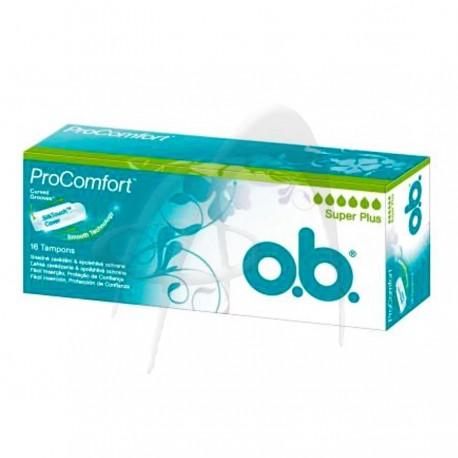 TAMPOANE PROCOMFORT SUPER PLUS O.B.