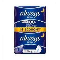 ABSORBANTE DE NOAPTE ALWAYS 14/SET