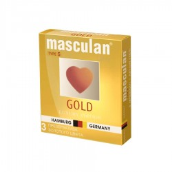 PREZERVATIVE GOLD MASCULAN 3/SET