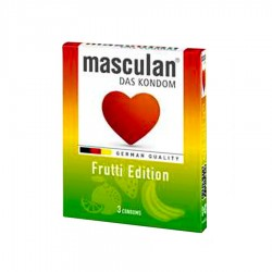 PREZERVATIVE FRUTTI EDITION MASCULAN 3/SET
