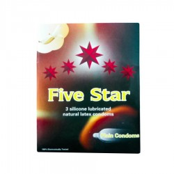 PREZERTATIVE FIVE STAR 3/SET