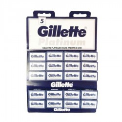 LAME PLATINUM GILLETTE 100/SET