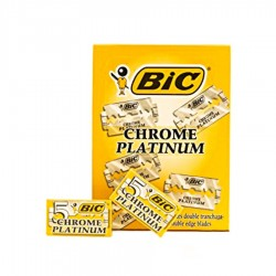 LAME CHROME PLATINUM BIC 100/SET