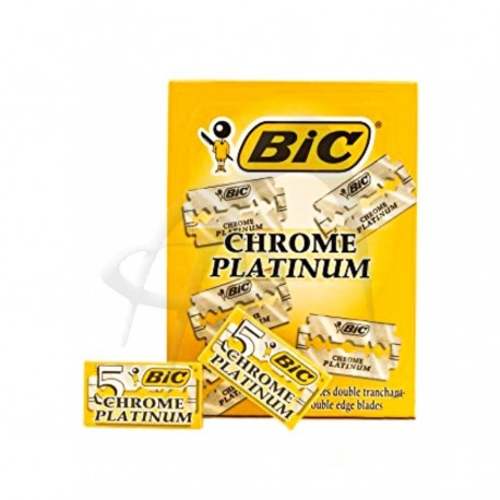 LAME CHROME PLATINUM BIC