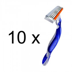APARAT RAS BLUE 3 GILLETTE 10/SET