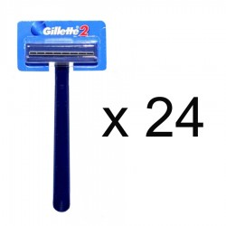 APARAT RAS CU 2 LAME GILLETTE 24/SET