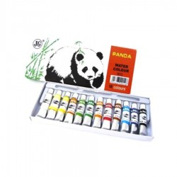 ACUARELE TUB TEMPERA PANDA 12/SET