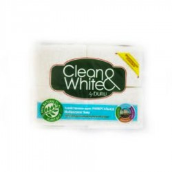 SAPUN RUFE CLEAN & WHITE DURU 125G 4/SET