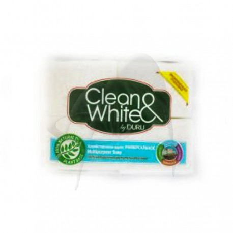 SET SAPUN RUFE CLEAN & WHITE DURU
