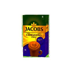 CAPPUCCINO IACOBS MILKA CHOCO 18G-8/CUT