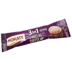 CAFEA MOKATE STRONG 3IN1 17G, 24/CUTIE