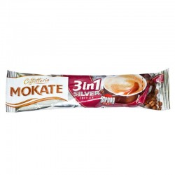 CAFEA MOKATE SILVER 3IN1 18G, 24/CUTIE