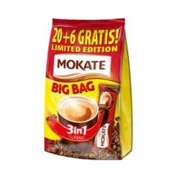 CAFEA MOKATE CLASSIC 3IN1 XXL-17G, 26/PUNGA