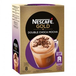 NESCAFE GOLD DOUBLE CHOCA MOCHA 18,5G-8/CUT