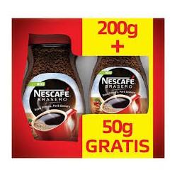 NESCAFE BRASERO ORIGINAL 200G+50G GRATIS