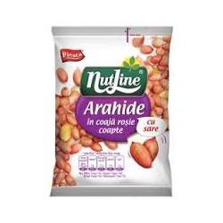 NUTLINE ARAHIDE IN COAJA COAPTE CU SARE 145G-12/BOX