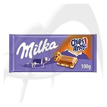 CIOCOLATA MILKA CHIPS AHOY 100G