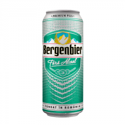 BERE DOZA FARA ALCOOL BERGENBIER 0.5L 6/BAX