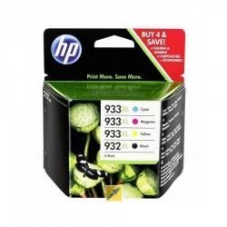 KIT CARTUSE ORIGINALE HP 932XL BLACK 933XL COLOR