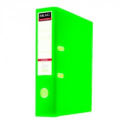 BIBLIORAFT A4 80 MM PP SKAG VERDE LIME