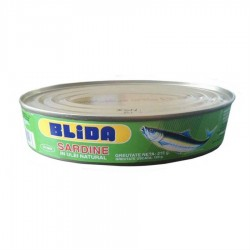 SARDINE IN ULEI NATURAL BLIDA 215G