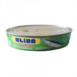 SARDINE IN ULEI NATURAL BLIDA 215G