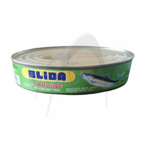 SARDINE IN ULEI NATURAL BLIDA
