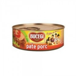 PATE PORC BUCEGI 120G 6/BAX