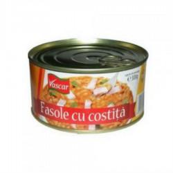FASOLE CU COSTITA VASCAR 300G 6/BAX