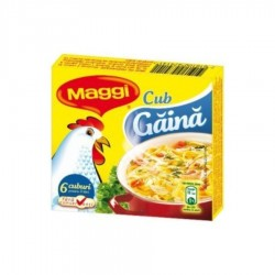 CUB GAINA MAGGI 60G 6/SET