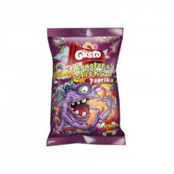 SNACKS MONSTERS STICKS GUSTO 30G 12/BAX