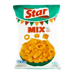 MIX SNACKS PIZZA, BRANZA SI PAPRIKA STAR 100G