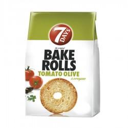 BAKE ROLLS TOMATO OLIVE 7 DAY'S 70G