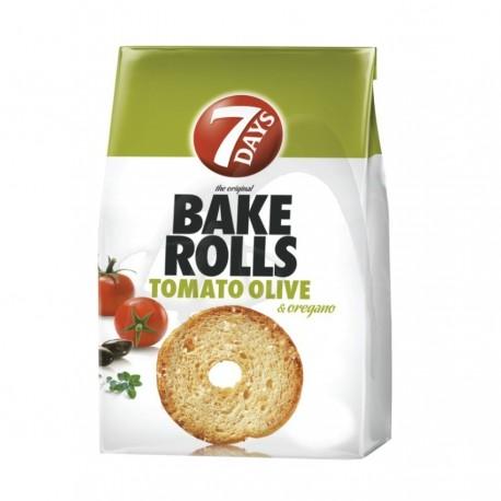 BAKE ROLLS TOMATO OLIVE 7 DAY'S
