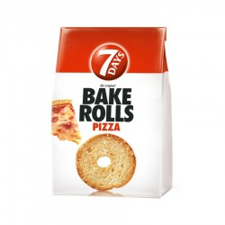 BAKE ROLLS PIZZA 7 DAY'S 70G