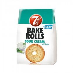 BAKE ROLLS SMANTANA SI CEAPA 7 DAY'S 70G