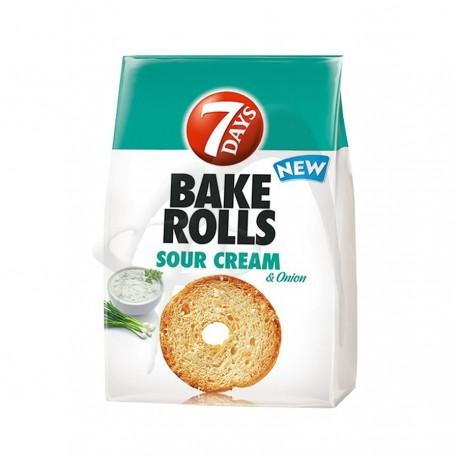 BAKE ROLLS SMANTANA SI CEAPA 7 DAY'S
