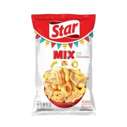 SNACKS CASCAVAL, BACON, CASCAVAL SI KETCHUP STAR 100G