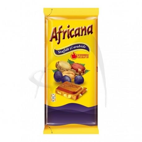 CIOCOLATA ARAHIDE SI STAFIDE AFRICANA