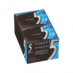 GUMA PEPPERMINT FIVE 290G 10/SET