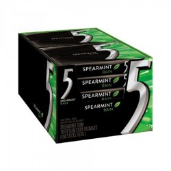 SET GUMA SPEARMINT FIVE