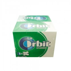 GUMA PASTILE SPEARMINT ORBIT 280G 100/CUTIE